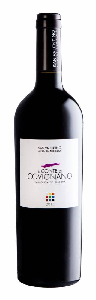 Conte di Covignano - ROMAGNA SANGIOVESE SUPERIORE RISERVA D.O.P. 2015 biologico