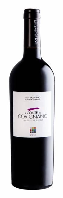 Conte di Covignano - ROMAGNA SANGIOVESE SUPERIOR RESERVE D.O.P. 2015 ORGANIC