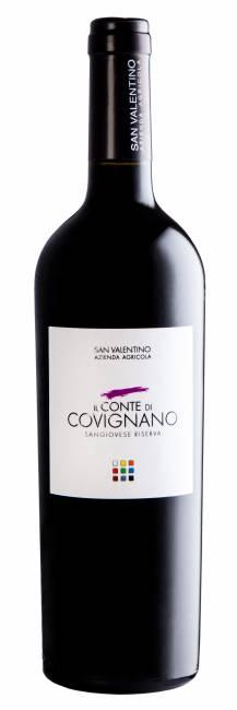 Conte di Covignano - ROMAGNA SANGIOVESE SUPERIOR RESERVE D.O.P. 2016 ORGANIC